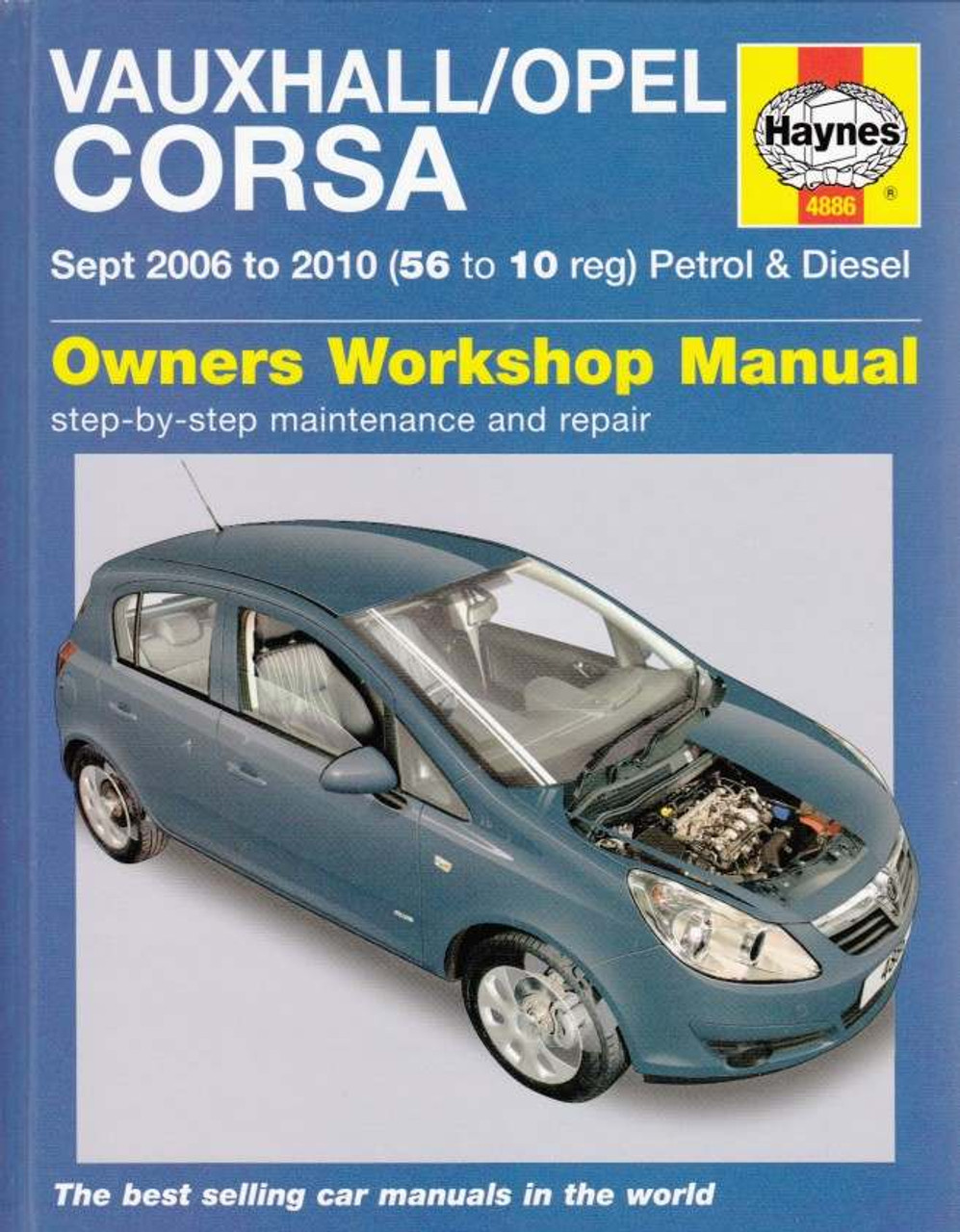 buy holden barina vauxhall opel corsa 2006 2010 workshop manual rh automotobookshop com au Holden Barina Spark Holden Barina Interior