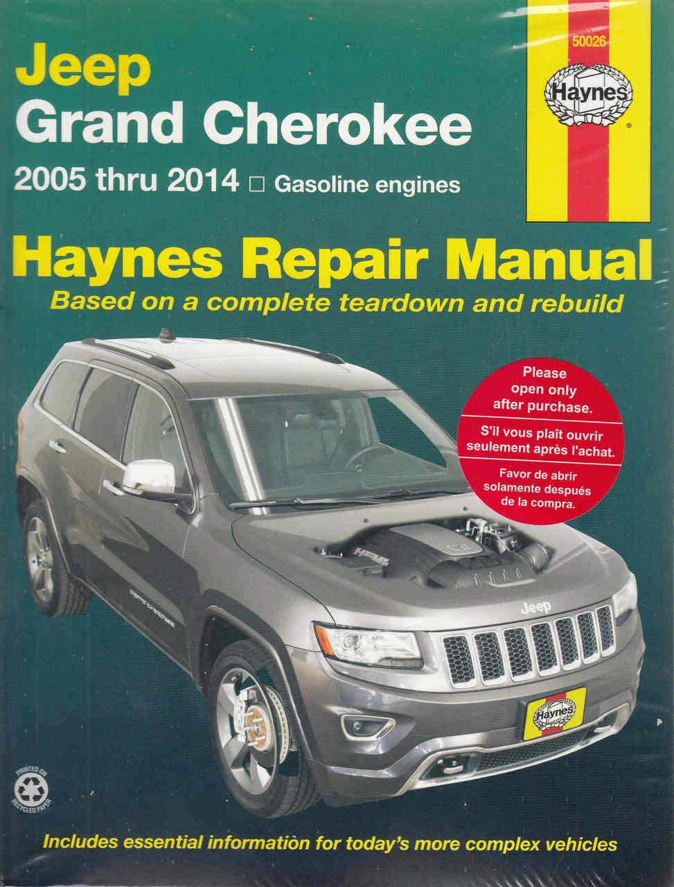 buy jeep grand cherokee 2005 2009 workshop manual rh automotobookshop com au jeep grand cherokee shop manual jeep grand cherokee service manual 2005 wk