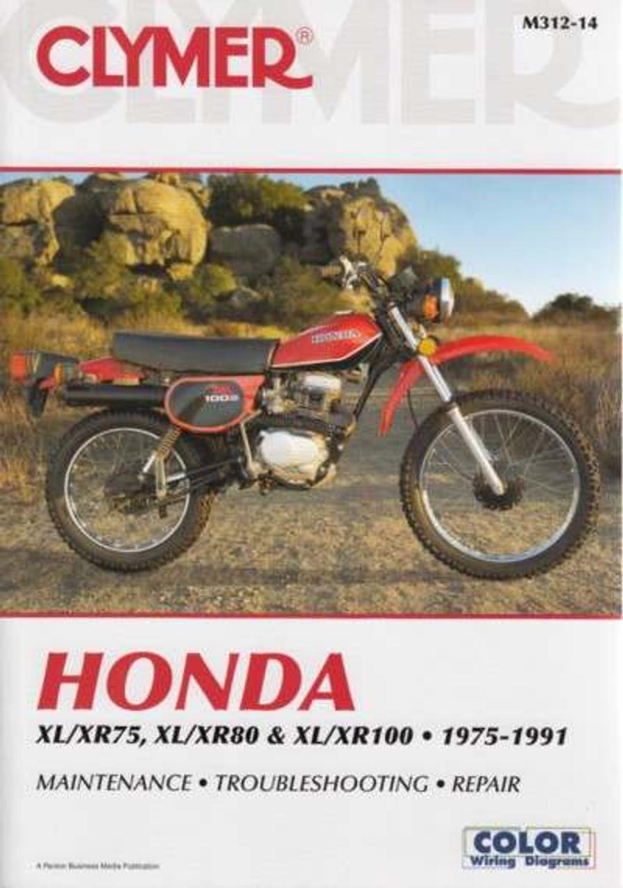 buy honda xl xr75 xl xr80 xl xr100 1975 1991 workshop manual rh automotobookshop com au 2003 Honda XR80R Engine 2003 honda xr80r manual