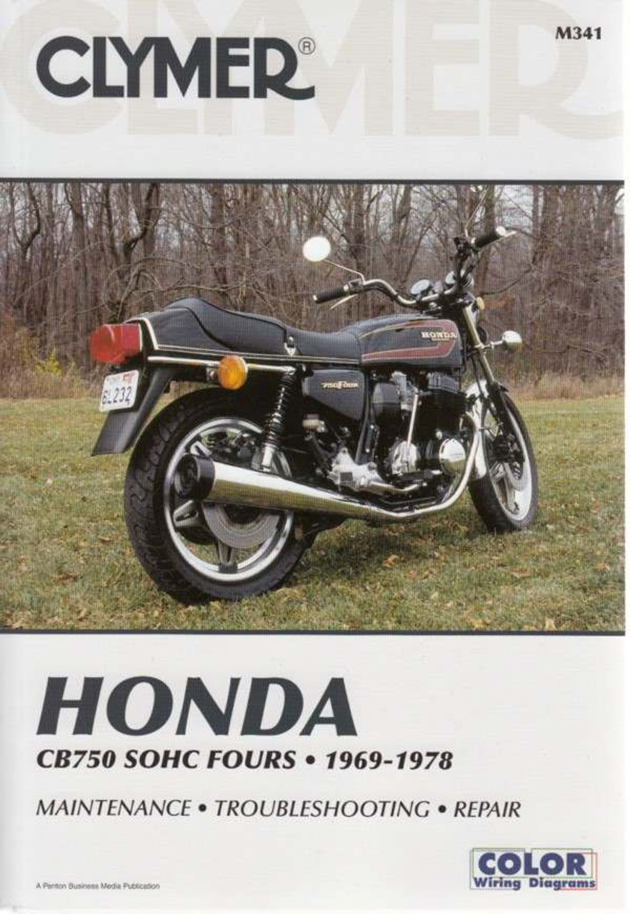 honda cb750 sohc fours 1969 1978 repair manual rh automotobookshop com au Honda CB750 Nighthawk Honda CB450