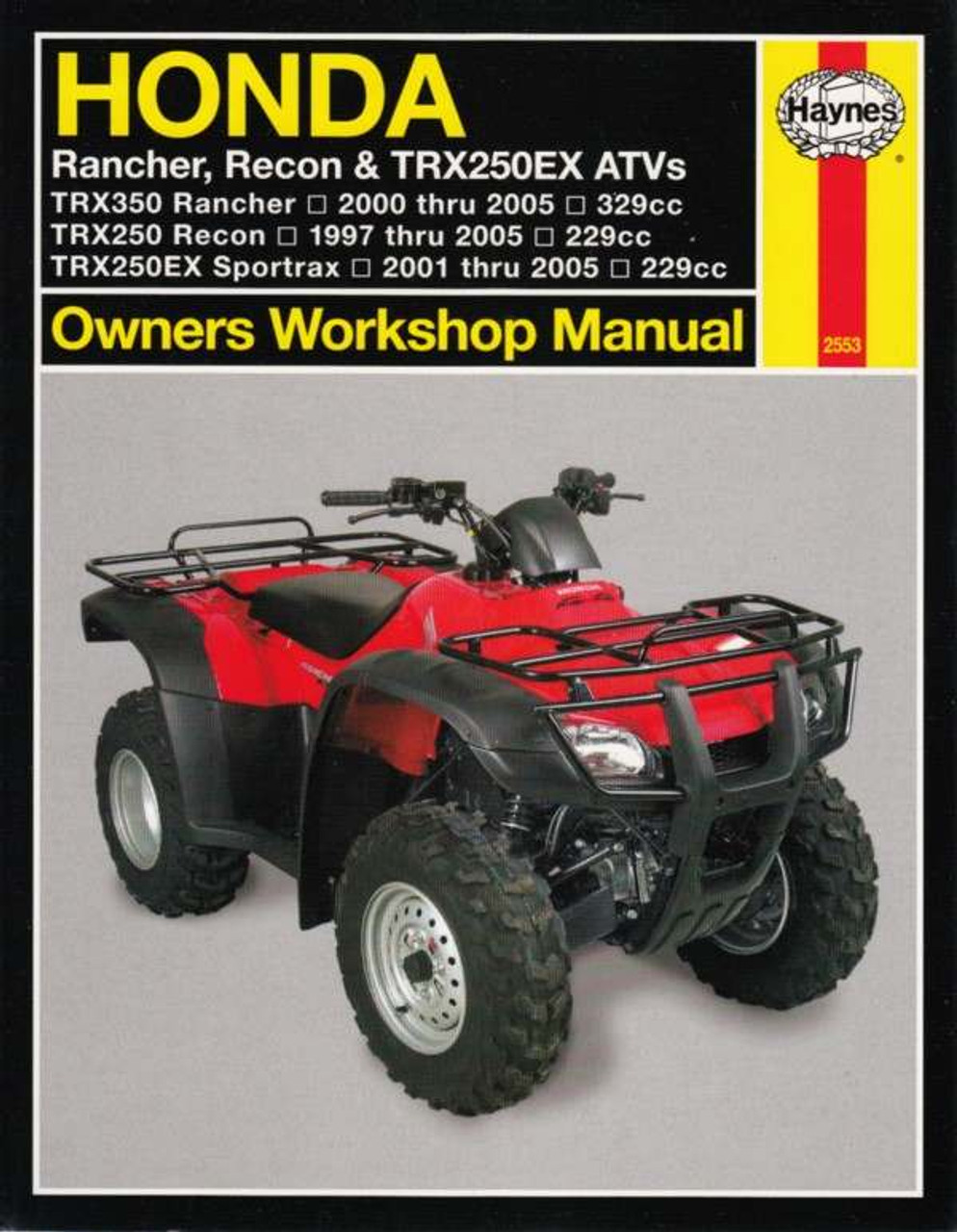 honda rancher recon trx250ex atvs 1997 2005 workshop manual rh automotobookshop com au Honda Recon Parts Diagram 2002 honda recon owners manual