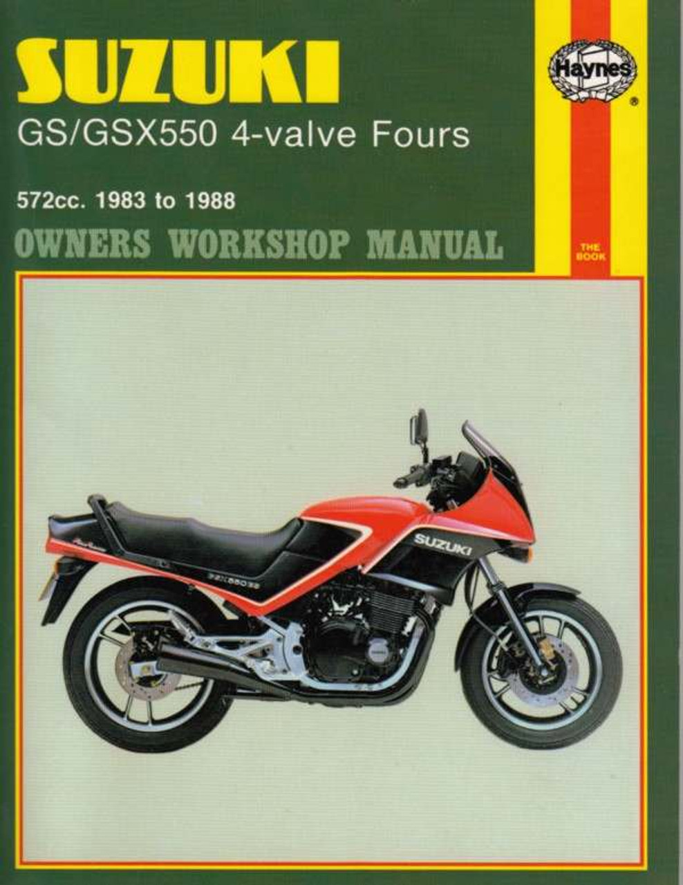 suzuki gs gsx550 4 valve fours 572cc 1983 1988 workshop manual rh automotobookshop com au suzuki gs500e service manual pdf suzuki gs500e service manual