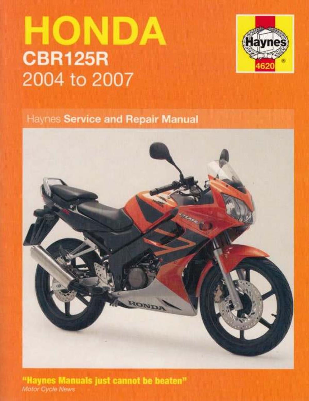 Honda cbf 125 workshop manual pdf