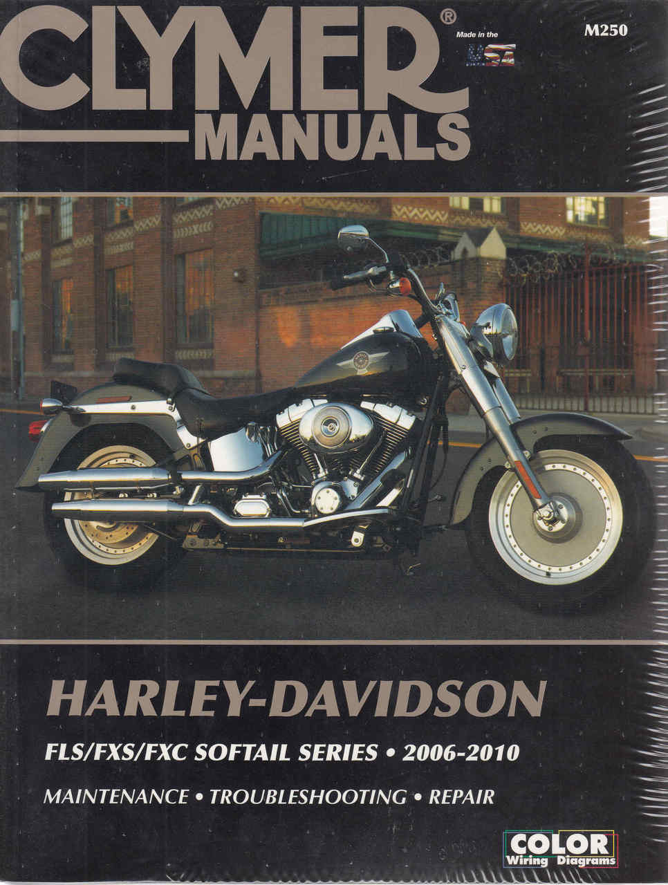 Harley-Davidson FLS, FXS, FXC Softail Series 2006 - 2010 Workshop Manual ...