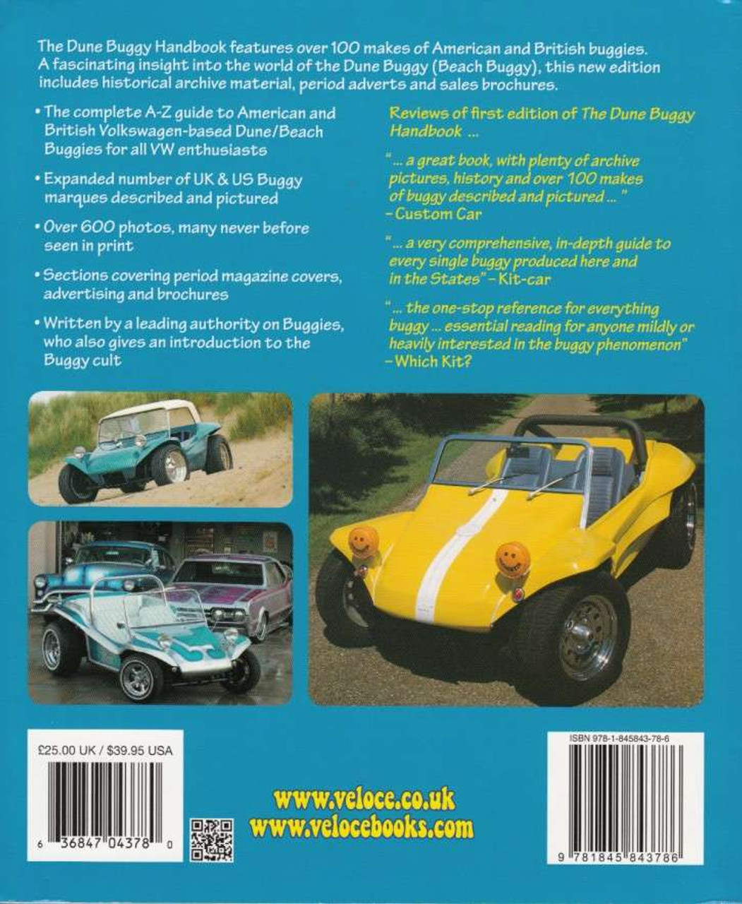 Dune buggy handbook the a z of vw based buggies since 1964 new dune buggy handbook dune buggy handbook back cover sciox Choice Image