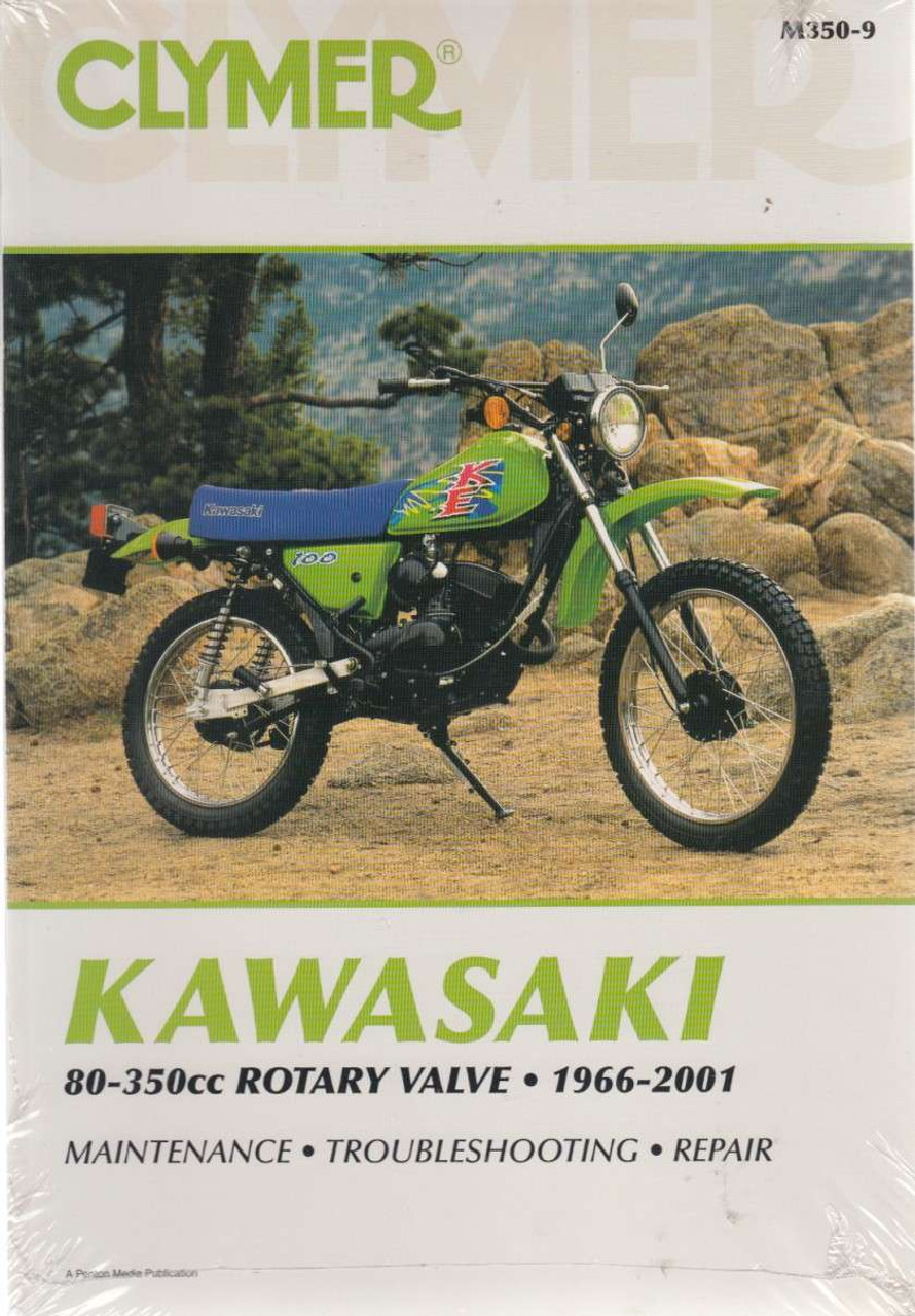 Kawasaki 80-350cc Rotary Valve 1966 - 2001 Workshop Manual ...