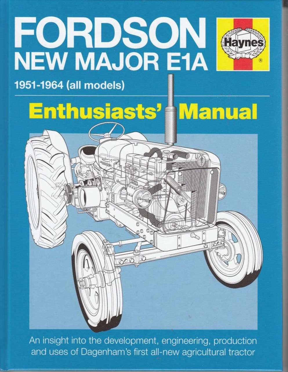 Fordson New Major E1A Tractor Manual ...