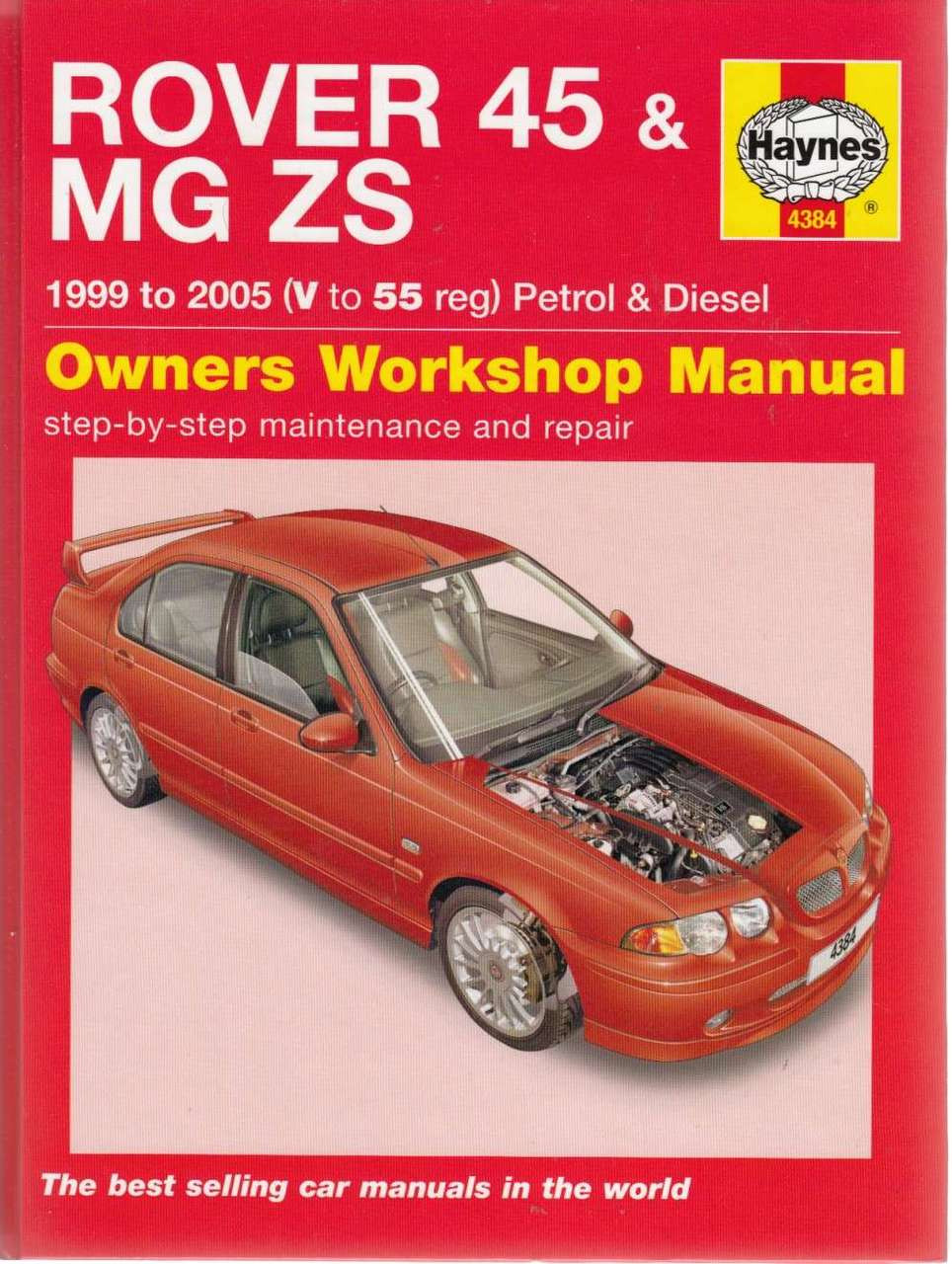 Rover 45 Mg Zs Petrol Diesel 1999 2005 Workshop Manual 820 Wiring Diagram Repair
