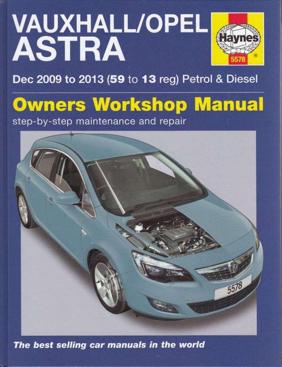 Vauxhall / Opel Astra Petrol & Diesel Workshop Manual ...