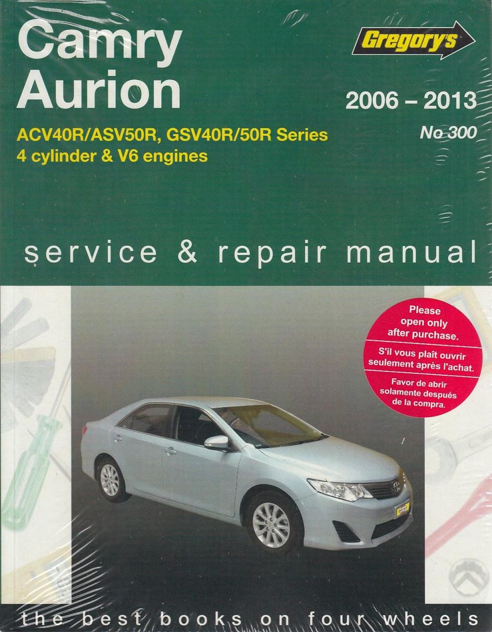 Toyota Aurion Wiring Diagram Manual Worksheet And 1988 Camry Radio 2 4 5 Litre 3 V6 2006 2013 Rh Automotobookshop Com Au Tundra 1978 Pickup