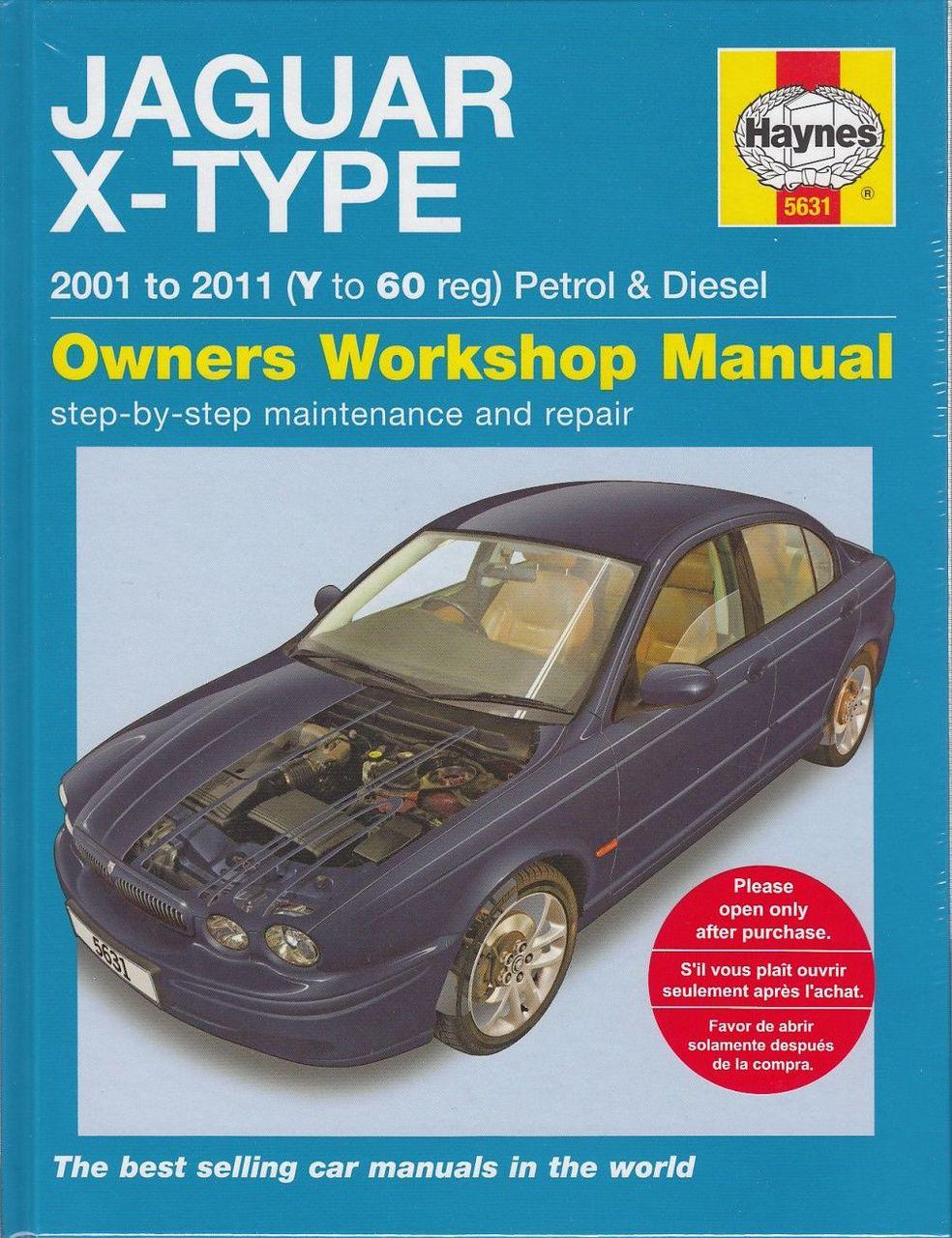 Jaguar X-type Petrol Diesel Repair Manual ...