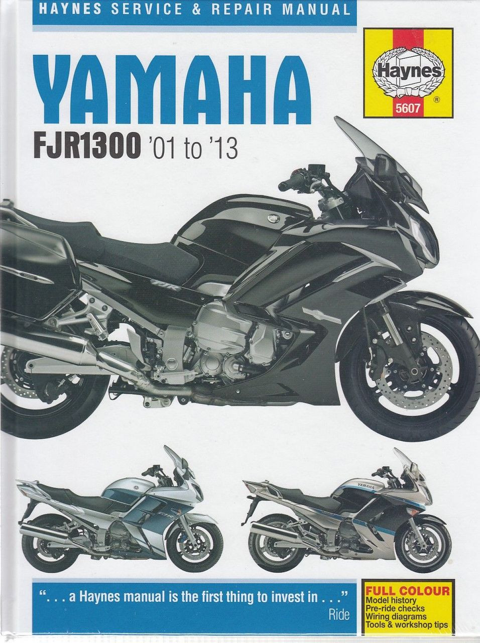 yamaha fjr1300 fjr1300a fjr1300as 1298cc 2001 2013 workshop manual rh automotobookshop com au Yamaha ATV Wiring Diagram Yamaha Motorcycle Wiring Diagrams