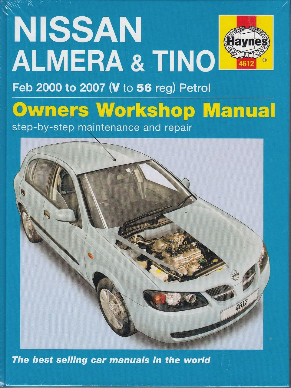 nissan almera tino 1 5 1 8 litre petrol 2000 2007 workshop manual rh automotobookshop com au 2016 Nissan Sentra 2014 Nissan Sentra