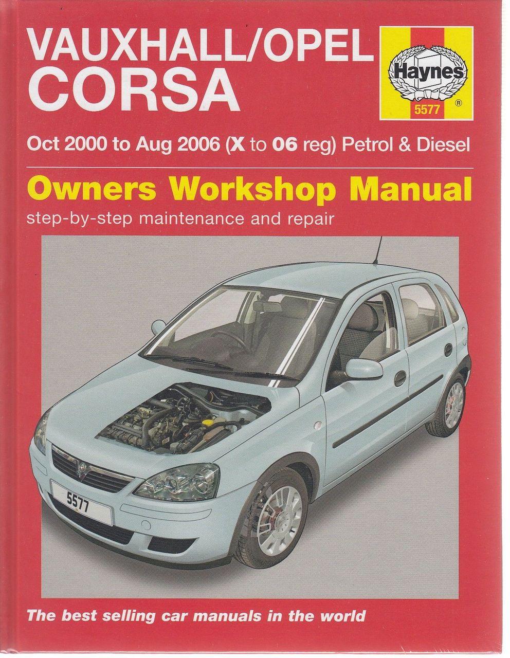 holden barina 2000 2006 petrol diesel workshop manual rh automotobookshop com au opel corsa c repair manual pdf opel corsa c service manual pdf
