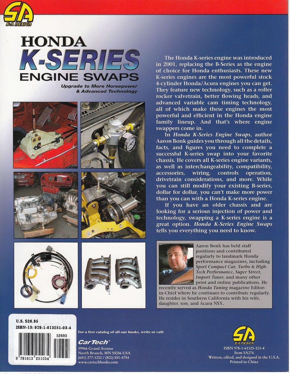 ... Honda K-Series Engine Swaps Back Cover ...