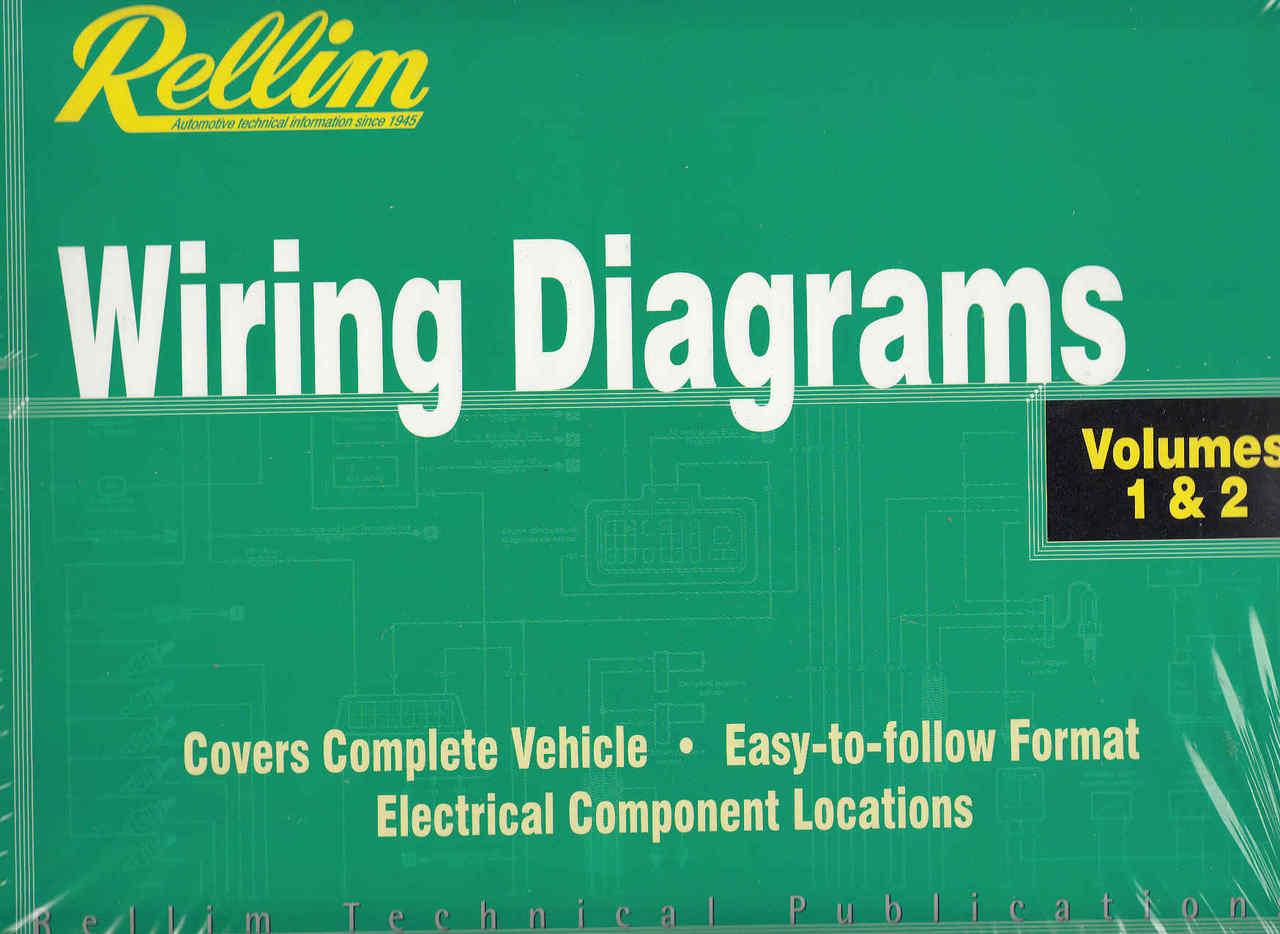 Rellim Wiring Diagrams Volumes 1 2 Vehicle Information
