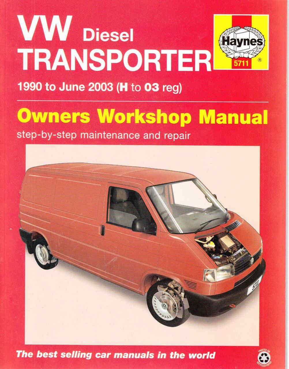 vw transporter t4 1990 to 2003 diesel workshop manual rh automotobookshop com au vw transporter t3 service manual pdf volkswagen transporter t3 repair manual