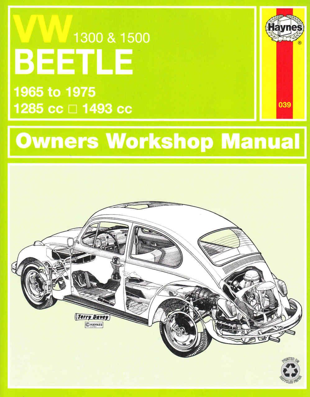 vw beetle 1300 1500 1965 to 1975 owners workshop manual rh automotobookshop com au vw beetle manual transmission swap vw beetle manual transmission problems