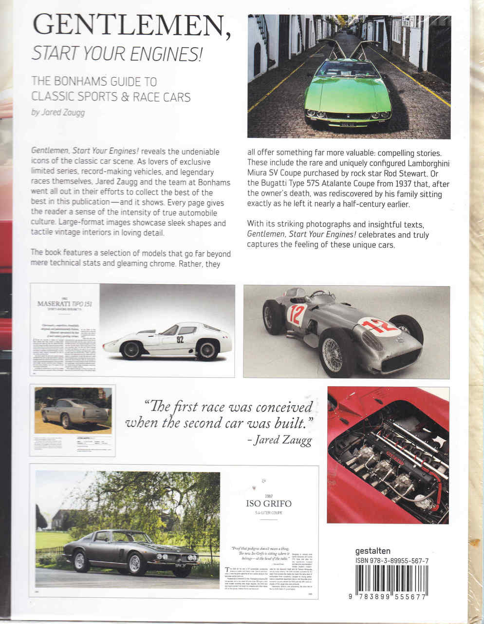 gentlemen start your engines the bonhams guide to classic sports and race cars. Black Bedroom Furniture Sets. Home Design Ideas