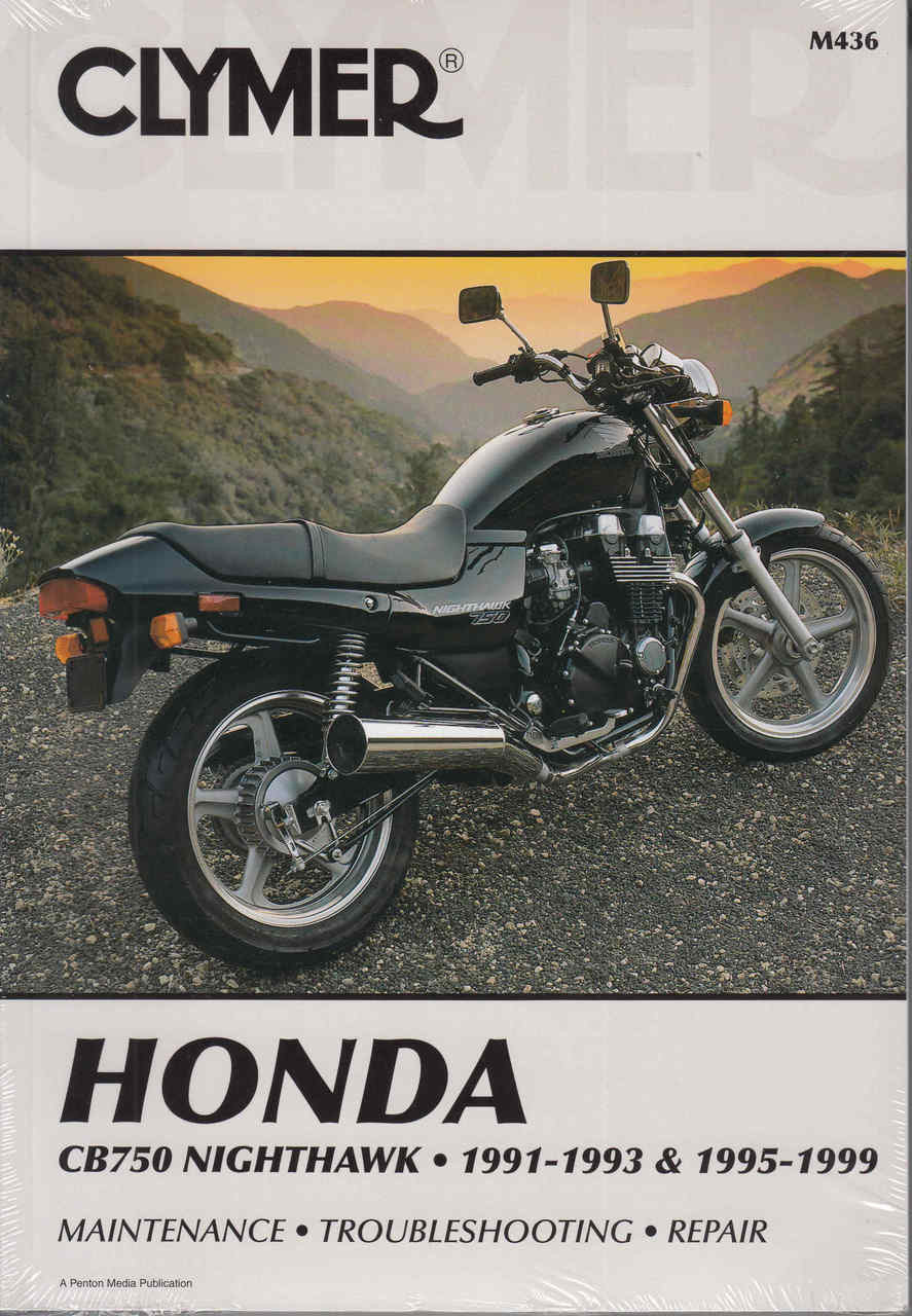 Honda Cb750 Nighthawk 1991 1993 1995 1999 Repair Manual Automoto Cb650c Wiring Diagram Front