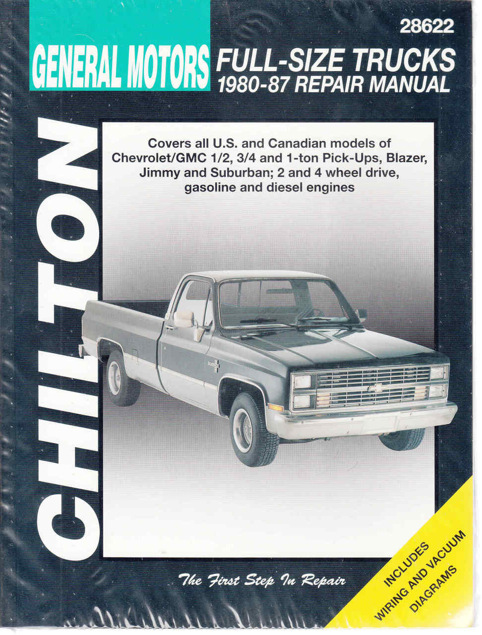 General Motors Full-Size Trucks 1980 - 1987 Workshop Manual