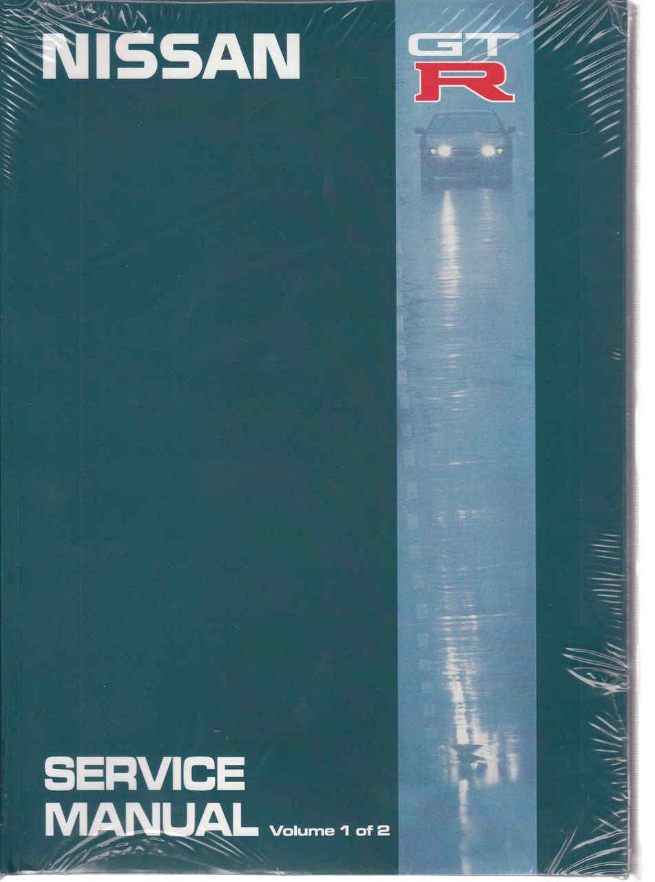 nissan gt r r32 service workshop manual 2 volume set rh automotobookshop com au Nissan Skyline GTR R32 Drift nissan skyline r32 gtr workshop manual
