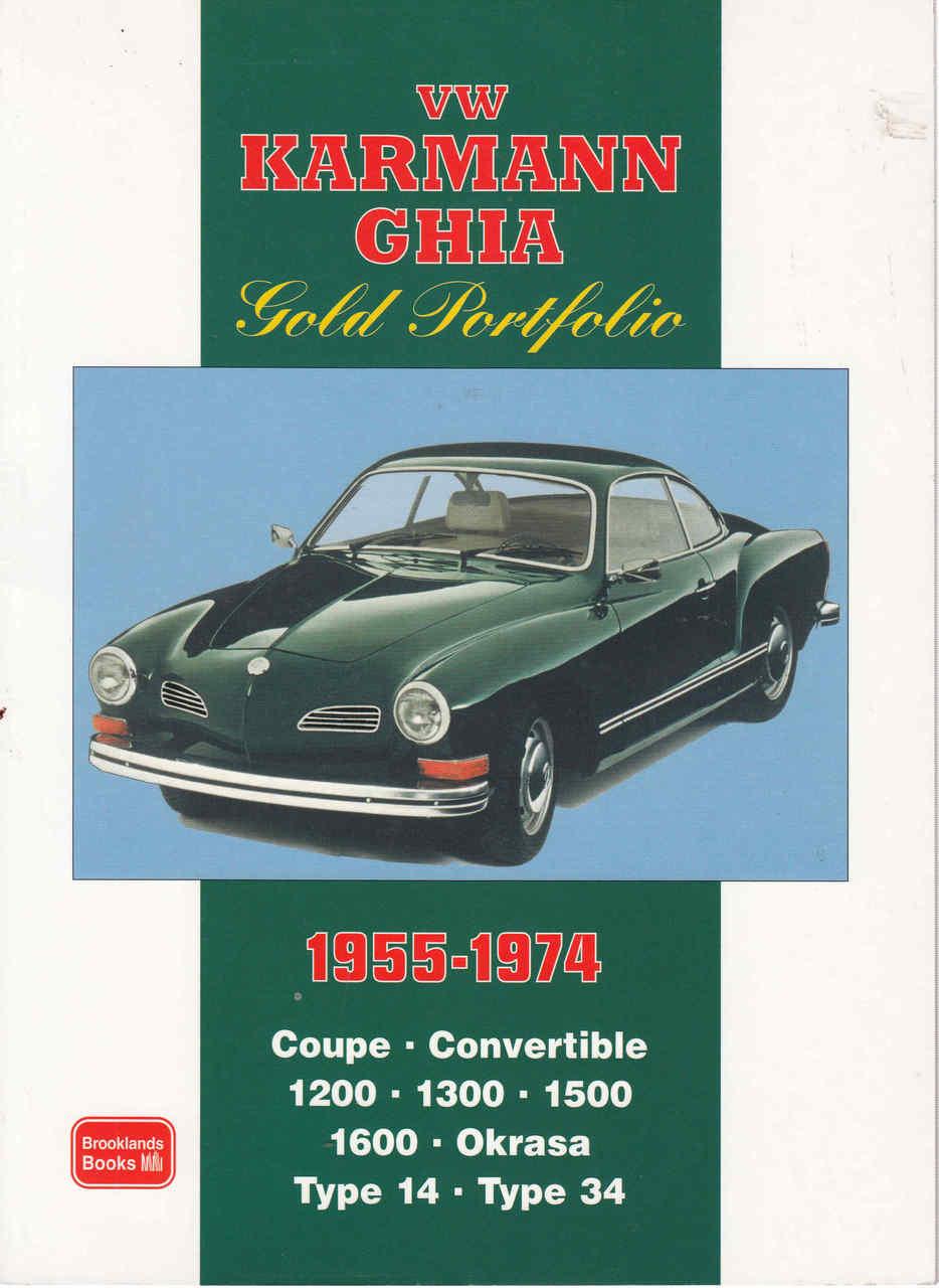 Vw Karmann Ghia Gold Portfolio 1955 1974 Electric In Los Angeles