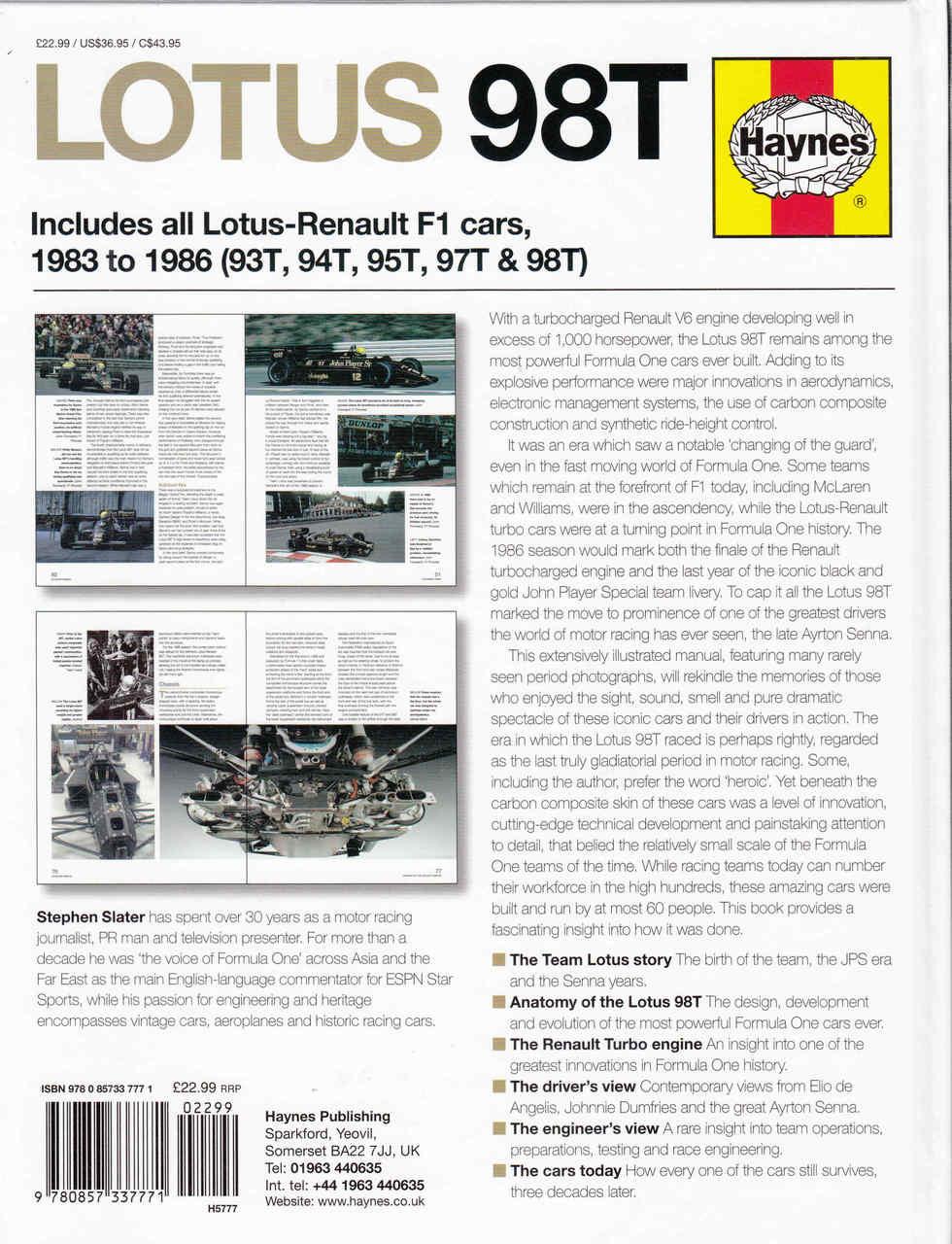 Lotus 98t 1983