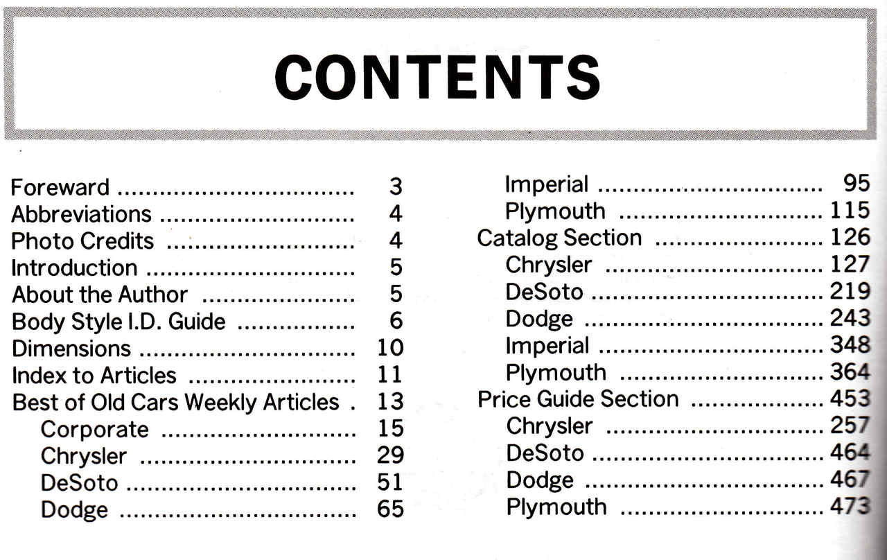 Standard Catalog of Chrysler 1924-1990