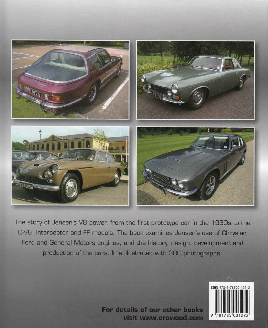Jensen V8 The Complete Story Of The American-Powered Cars
