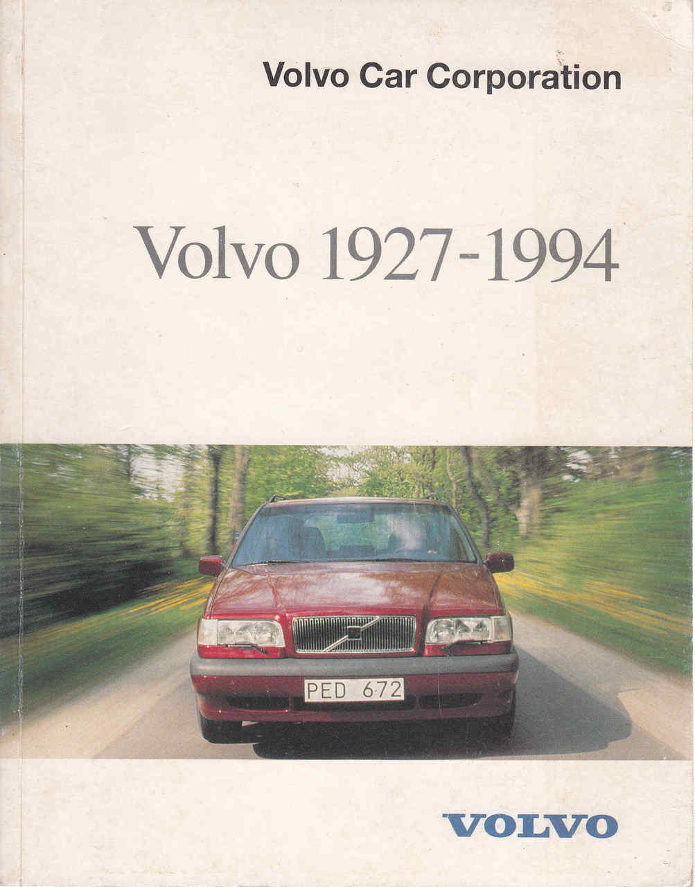 Volvo 1927 1994 Volvo Car Corporation