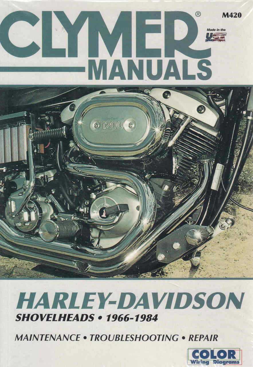 harley davidson shovelheads 1966 1984 repair workshop manual rh automotobookshop com au