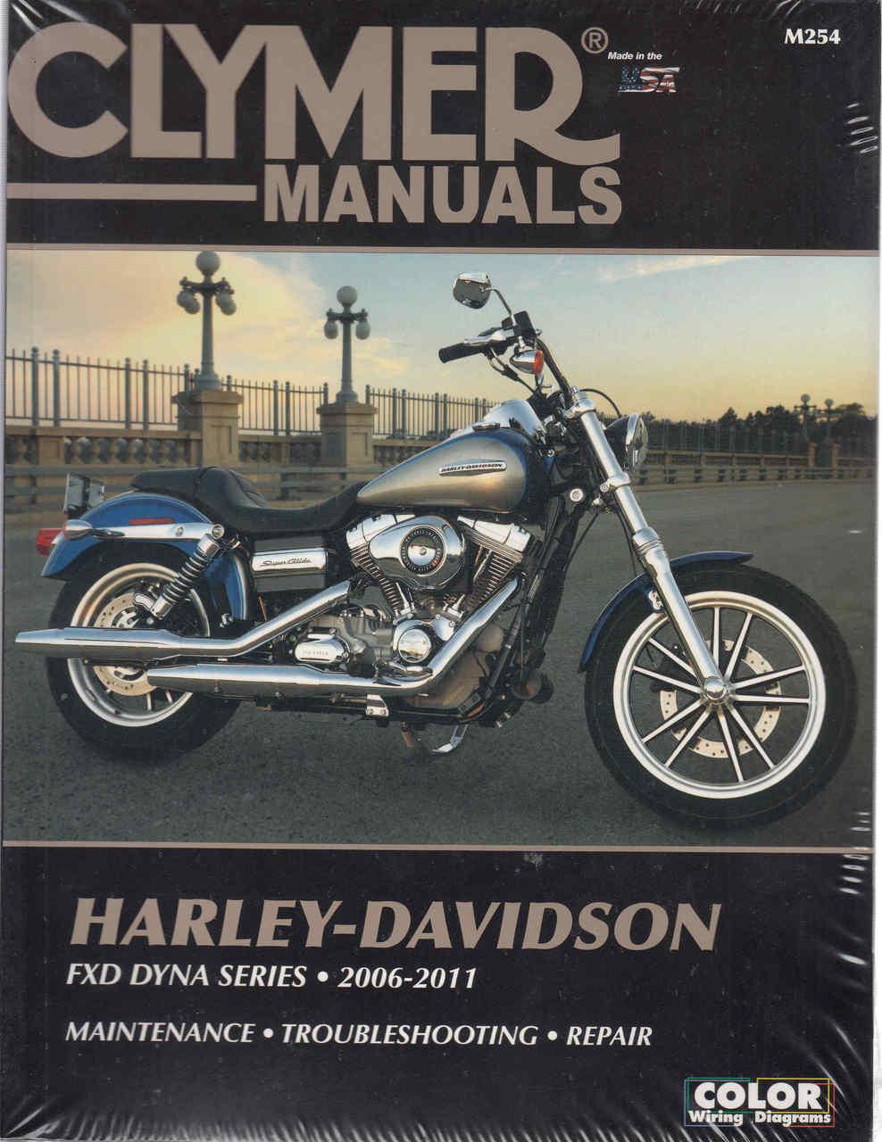 Harley-Davidson FXD DYNA SERIES 2006 - 2011 Workshop Manual (9781599695365)  ...