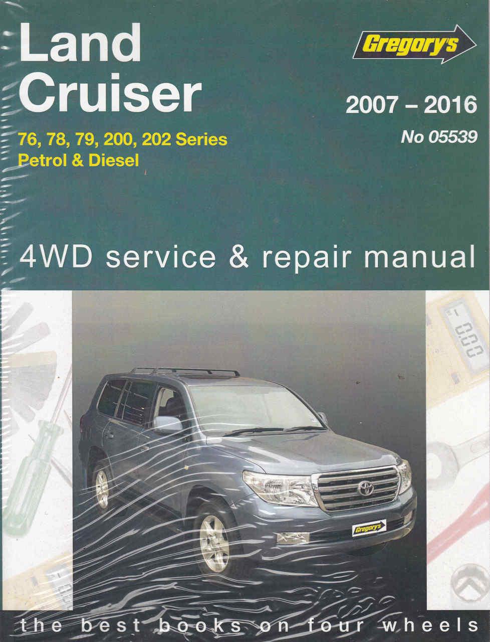 toyota land cruiser 76 78 79 200 202 series 2007 2016 petrol rh automotobookshop com au manual toyota land cruiser prado manual toyota land cruiser prado
