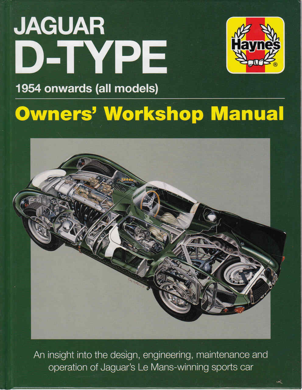 jaguar d type 1954 onwards all models owners workshop manual rh automotobookshop com au jaguar repair manual free download 2011 Jaguar XK Manuals