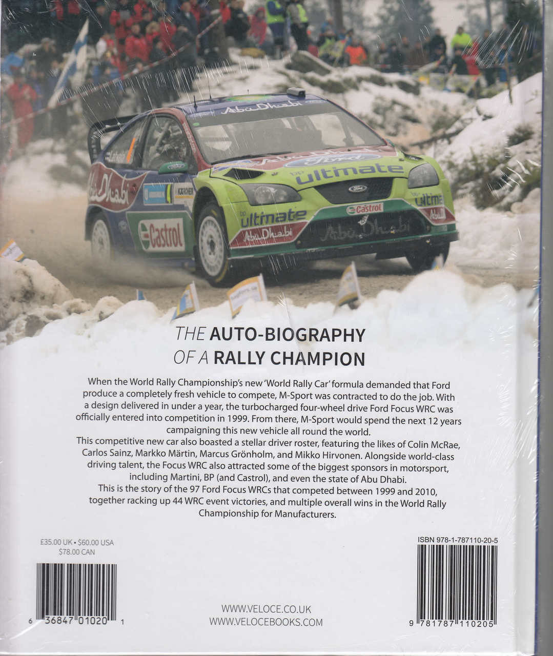 Ford Focus Wrc The Auto Biography Of A Rally Champion 2002 Se Wagon 20 Liter Dohc 16valve Zetec 4 Cylinder 9781787110205