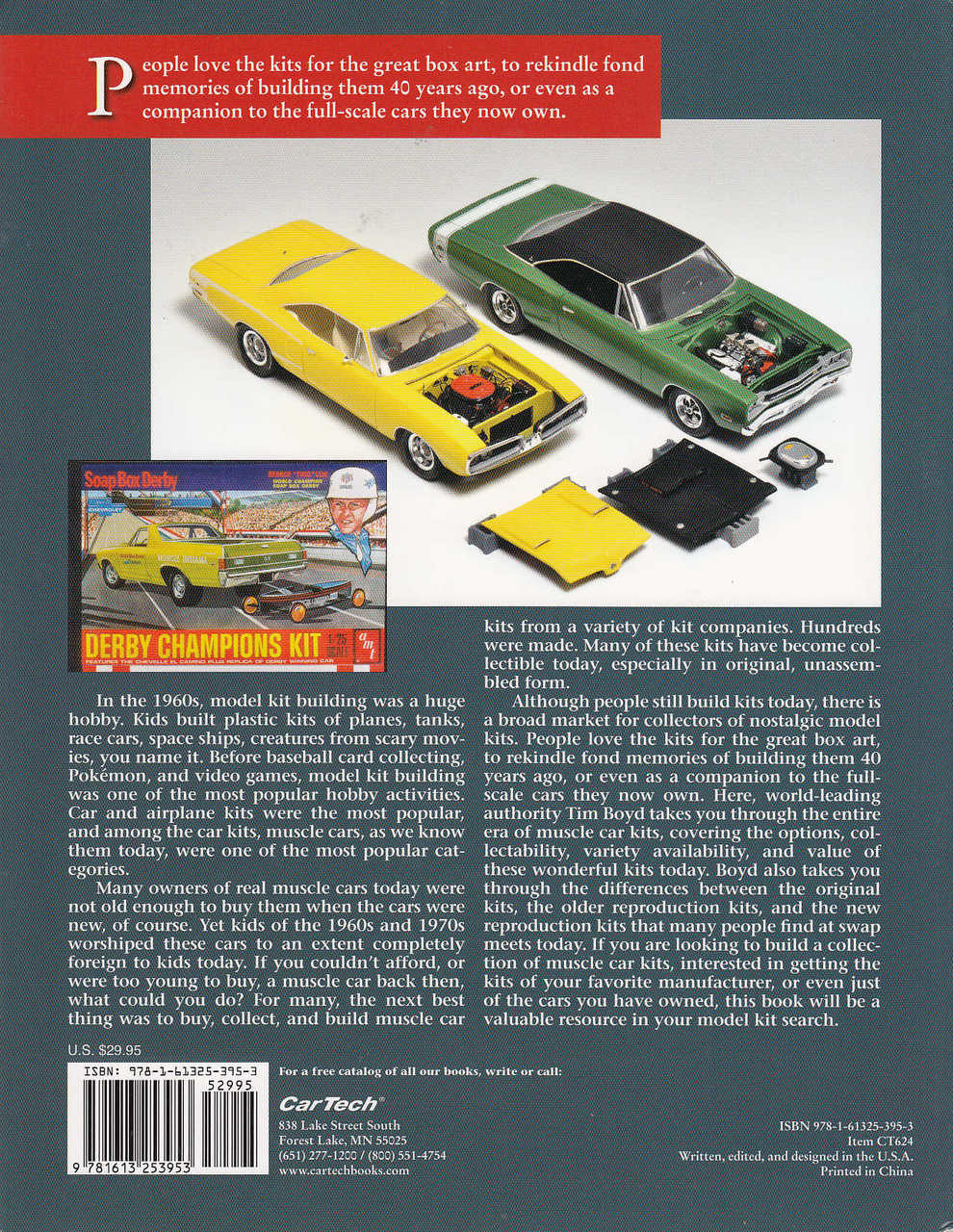 Collecting Muscle Car Model Kits Tim Boyd