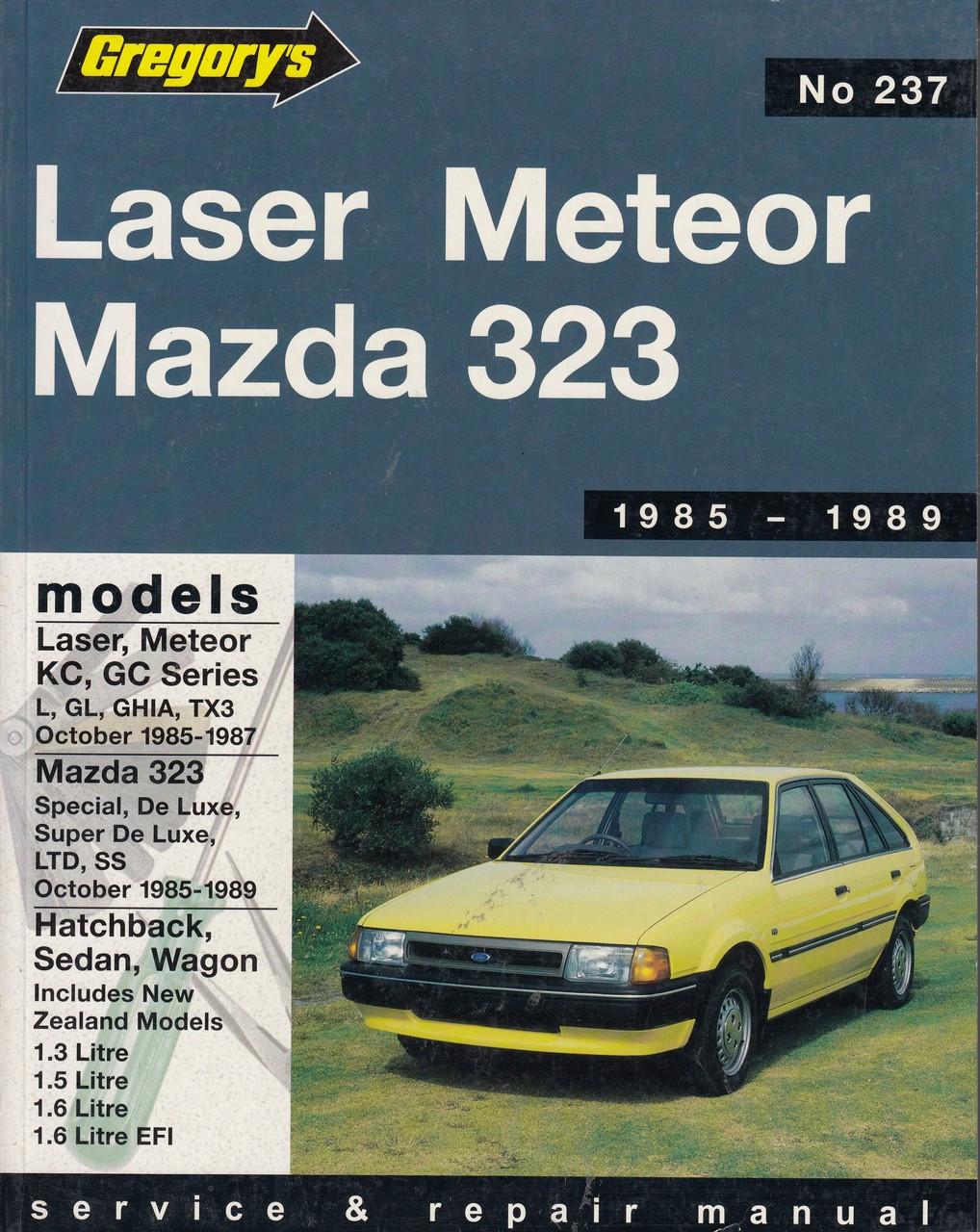 Laser/Meteor Kc/GC (1985-1987), Mazda 323 (1985 ...