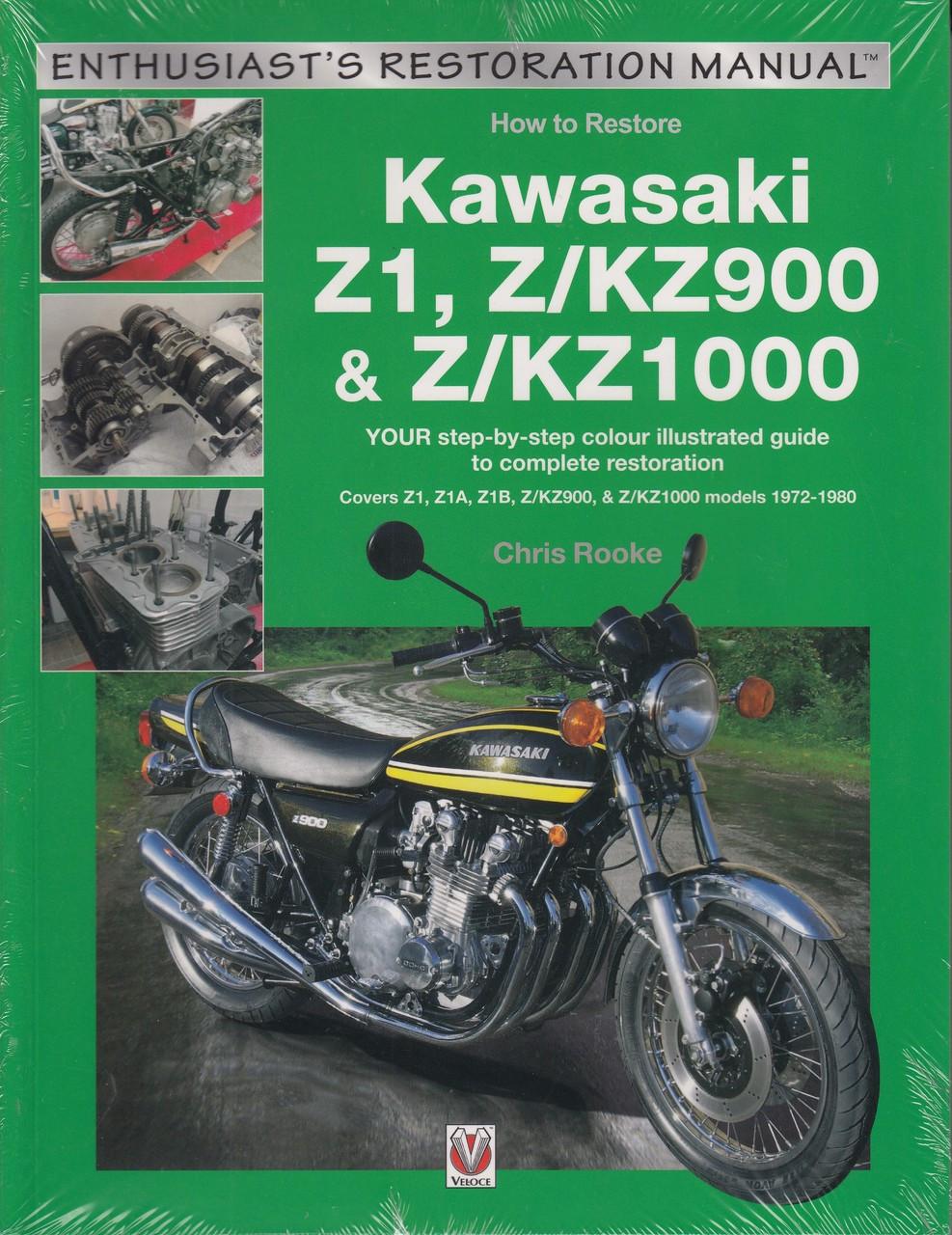 How to Restore Kawasaki Z1, Z/KZ900 & Z/KZ1000 (Restoration Guide by Chris  Rooke) (9781787111585)