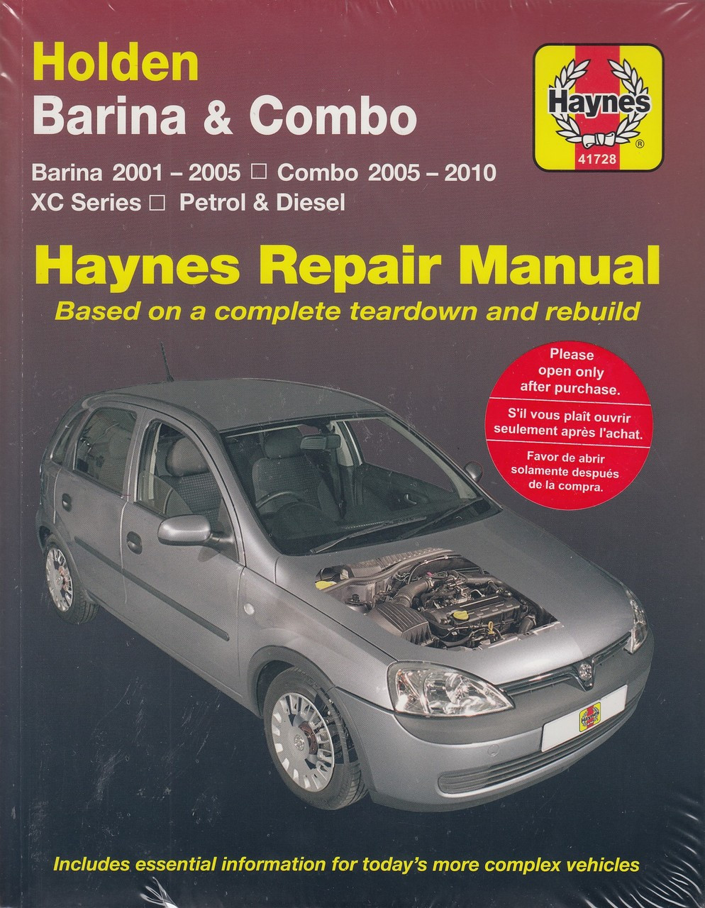2015 Holden Barina Workshop Manual Toyota Celica A40 1978 Wiring Diagrams Repairmanuals 9781620921982 Array 2008 Gmc Acadia User Rh Sportingpenistone Org Uk