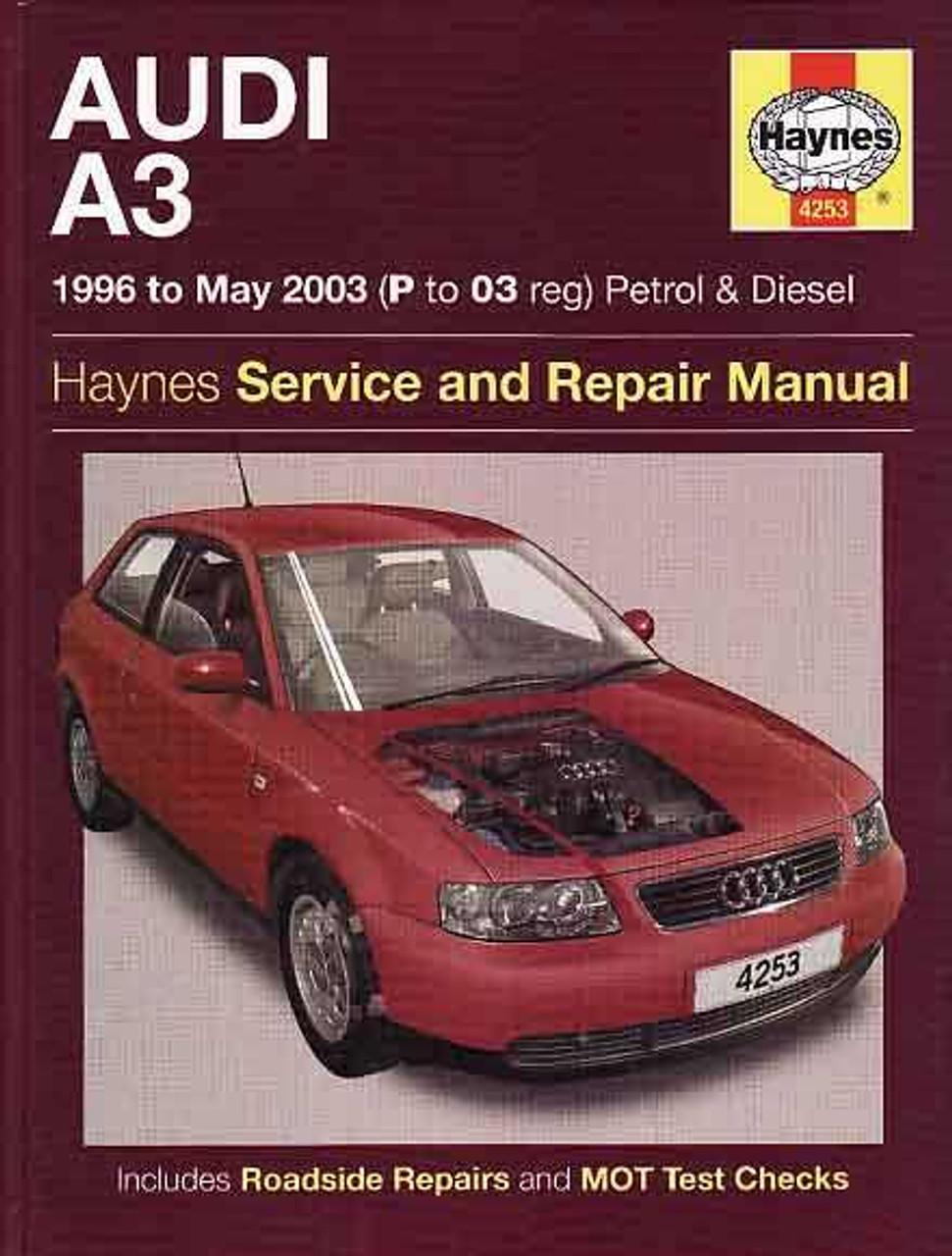 audi a3 1996 to 2003 petrol and diesel workshop manual