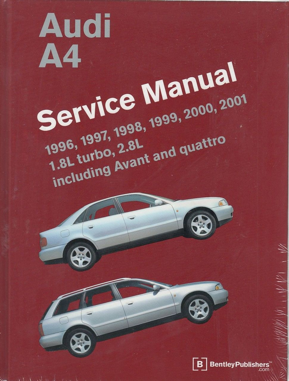 Audi A4 1996 - 2001 Workshop Manual ...