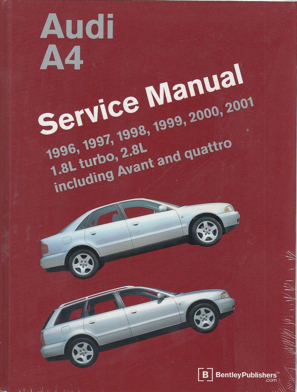 Audi A4 1996 - 2001 Workshop Manual ...