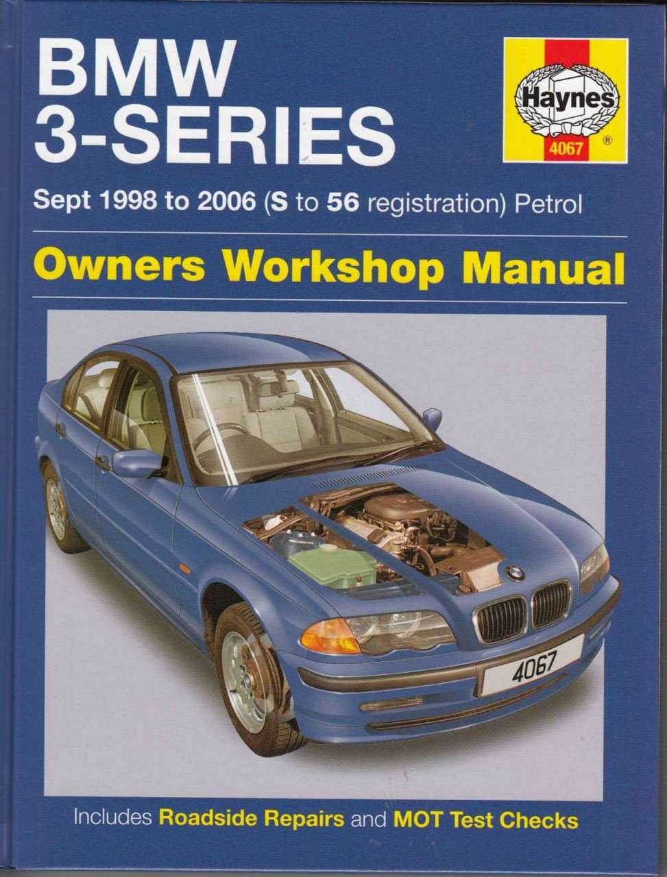 BMW 3-Series Petrol E46 1998 - 2006 Workshop Manual ...