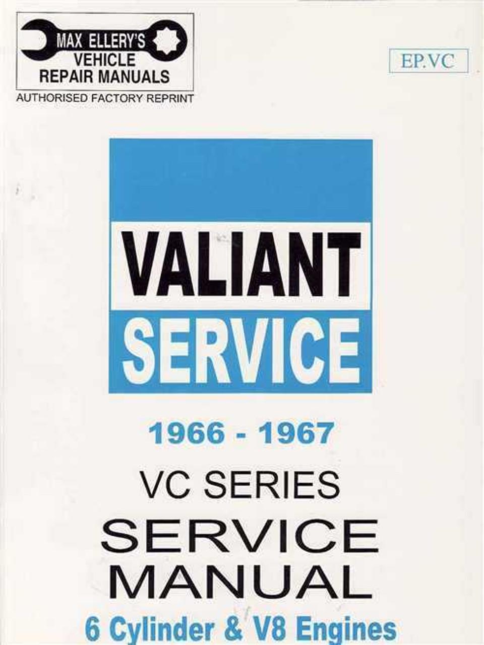 valiant vc series 1966 1967 workshop manual rh automotobookshop com au vc valiant workshop manual download vc valiant workshop manual download