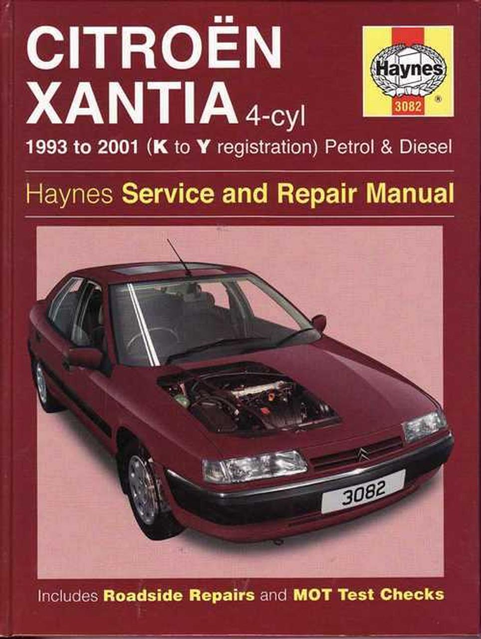citroen xantia 1993 2001 workshop manual rh automotobookshop com au Citroen BX Citroen CX