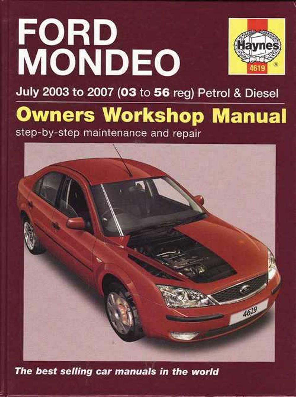 ford mondeo 2003 2007 workshop manual rh automotobookshop com au 1995 Ford Mondeo Ford Mondeo 2003 Lock Pin