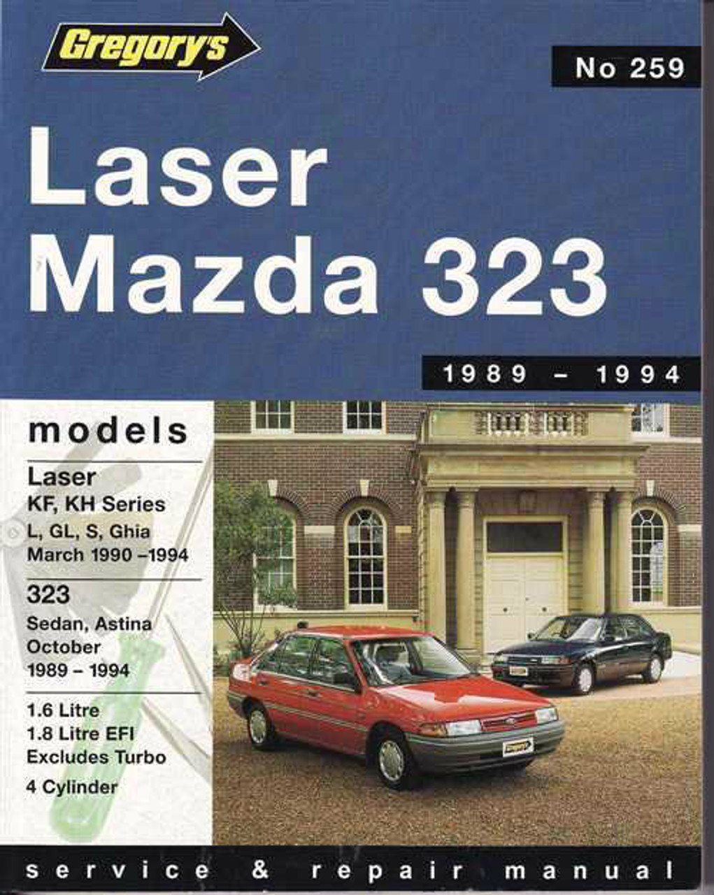 ford laser amp mazda 323 1989 1994 workshop manual rh automotobookshop com au 1990 mazda 323 service manual 1988 mazda 323 owner's manual