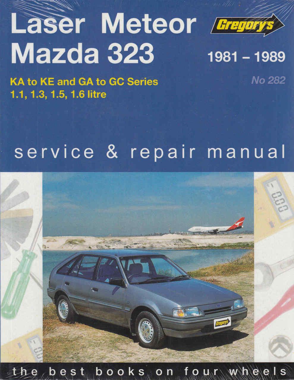 Ford Laser, Ford Meteor and Mazda 323 KA to KE / GA to GC Series ...
