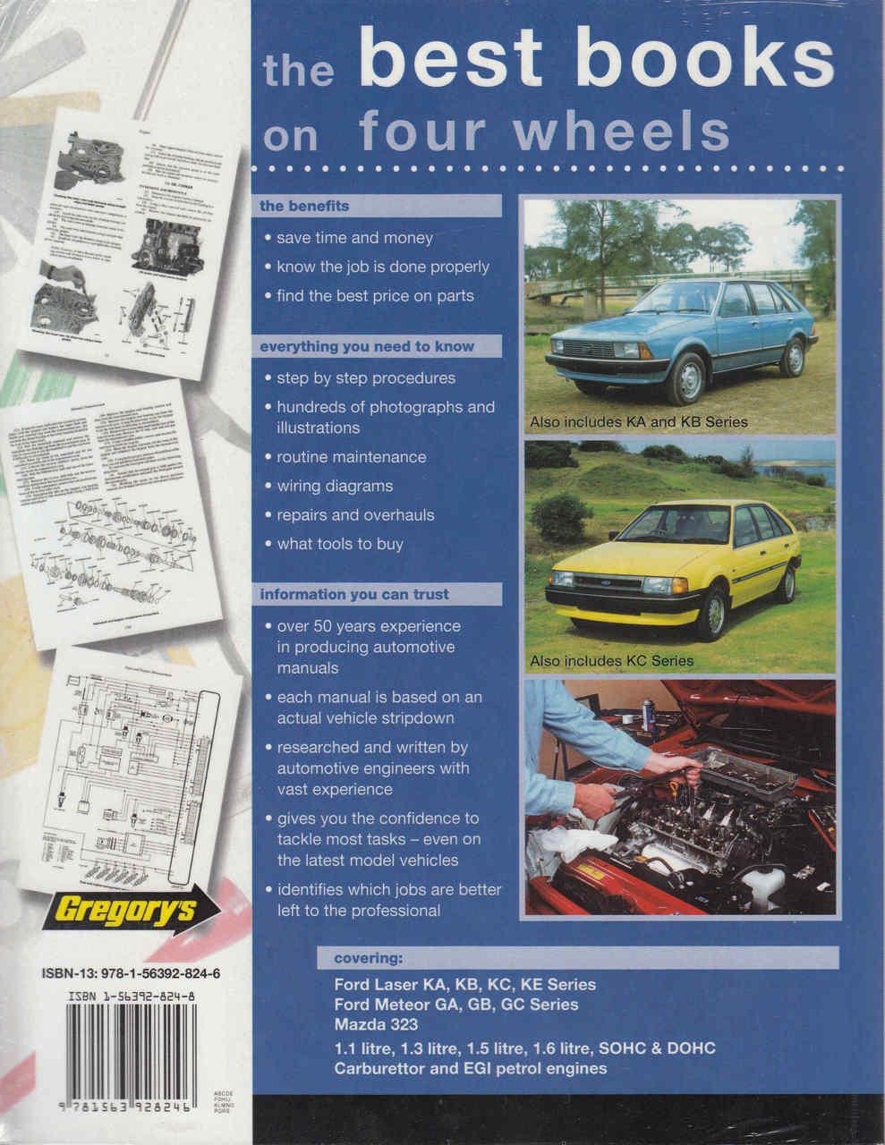 ... Ford Laser, Ford Meteor and Mazda 323 KA to KE / GA to GC Series